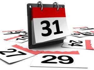Tjek Havnens Kalender AFLYSNINGER !!